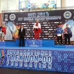 Doi karatiști băimăreni au terminat pe podium la recentele Campionate Mondiale de Taekwon-do din Spania / Foto Bogdan Groza