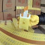 Aproape 3000 de pachete de tigari,   confiscate de autoritati