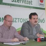 Deputatul Kereskényi Gábor şi senatorul Pataki Csaba