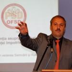 Sociologul Vasile Dâncu la o dezbatere organizată de OFSD Cluj/ foto Dan Bodea