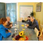 Ambasadorul Danemarcei,   în vizită la Oradea