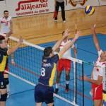 Volei Municipal Zalău și-a continuat seria de meciuri bune în Divizia A1 și a reușit să câștige și în fața lui Dinamo. Foto/Magazin Sălăjean.ro