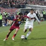 Rivalitatea dintre CFR și Dinamo este garanția unor partide spectaculoase pe orice teren s-ar disputa / foto: Dan Bodea