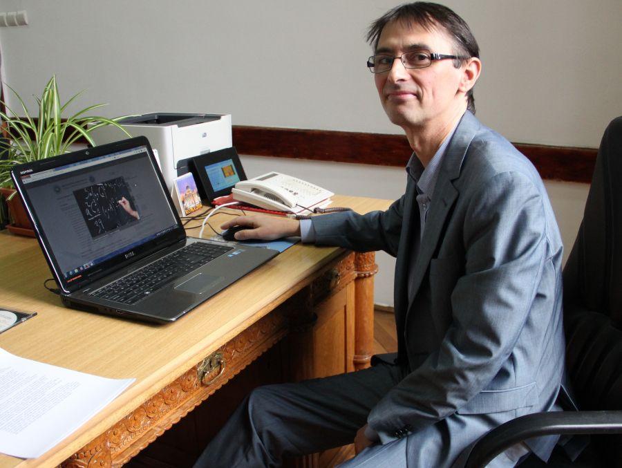 Decanul Facultății de Matematică şi Informatică, Prof. dr. Adrian Petrușel/Foto: Dan Bodea