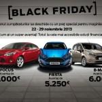 Cu ocazia Black Friday,   mașinile Ford devin irezistibil de ușor de cumpărat!
