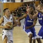 Branko Cuic a marcat 23 de puncte și a recuperat 15 mingi în partida câștigată de echipa sa în fața Craiovei/ Foto: Dan Bodea
