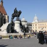 Craiova luptă cu Cluj-Napoca pentru titlul de Capitală Culturală Europeană,   folosindu-se de ajutorul premierului Victor Ponta. (foto: Dan Bodea)