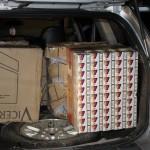 Țigări de contrabandă în valoare de 128.000 lei,   confiscate