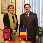 Ambasadorul Norvegiei,   prezent prima oară la Cluj-Napoca