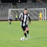 """Lemnaru,   un fel de talisman pentru """"U"""" Cluj: a marcat numai în meciuri în care """"U"""" a contabilizat puncte / Foto: Dan Bodea"""