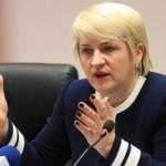 Ministrul delegat pentru Ape,   Păduri şi Piscicultură,   Lucia Varga / Sursa foto: ape-paduri.ro