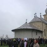 Executarea Mănăstirii Bixad a început cu puține minute înainte de ora 12,  00
