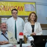 Medicii de la Salvosan au făcut consultaţiile în proiect