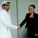 Camelia a  plecat în Qatar,   unde a devenit partener într-o firmă de consultanţă pentru afaceri