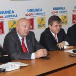 Liderii PSD au susținut luni o conferință de presă / Fotoreporter: Vasile Mihovici