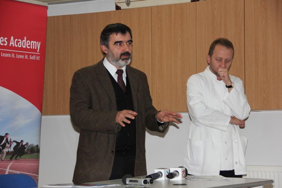 Foto: Dan Bodea Cornel Aldea, manager Spital Copii