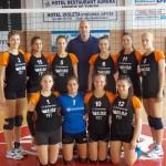 CSM - ADEP Satu Mare a debutat cu dreptul în campionatul Diviziei A2 de volei feminin