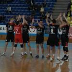 Voleibaliştii de la Explorări Baia Mare au făcut un prim set excepţional în returul cu Storiel Minsk însă, au pierdut meciul cu 1-3 şi implicit calificarea în Challege Cup