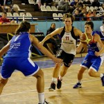 Flavia Ferenczi a contribuit cu 17 puncte la victoria echipei sale la Craiova/ Foto: Dan Bodea