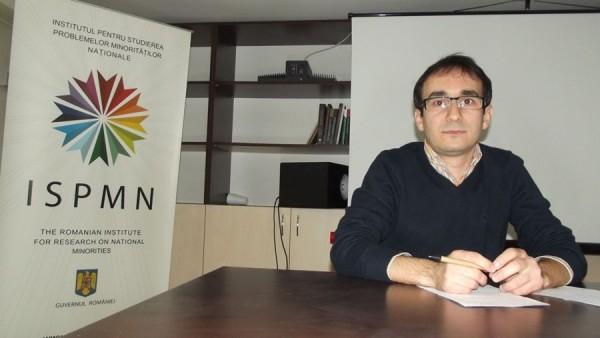 Gidó Attila,   cercetător la Institutul pentru Studierea Problemelor Minorităților Naționale/ Foto: Bogdan Stanciu