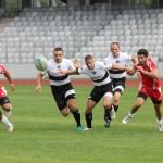 Rugby-iştii de la Universitatea Cluj au făcut spectacol la Mangalia şi s-au calificat în sferturile Cupei României / foto: Dan Bodea
