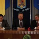 Gheorghe Dragomir a fost prezent joi la Satu Mare