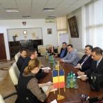 Ambasadorul Irakului ,   oaspetele preşedintelui Consiliului Judeţean Maramureş