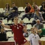 """După ce în turul trei au trecut fără emoții de PAOK Salonic,   """"studentele"""" luptă cu o formație din Turcia pentru accederea în sferturile Cupei EHF. (FOTO: Dan Bodea)"""