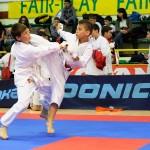 Sportivii de la la CS Karate do B.F.K.S Carei au fost printre remarcații Campionatelor Naționale de la București. Foto / karatetraditional193.blogspot.ro