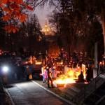 Luminația în cel mai mare cimitir din Cluj / Fotoreporter: Dan Bodea
