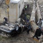 Accidentul s-a petrecut în iarna anului 2010