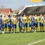 Gloria Bistrița - Olimpia Satu Mare,   unul dintre derby-urile etapei a XI-a din Liga a 2-a