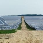 Parcul fotovoltaic de la Livada se întinde pe o suprafaţă de 135 hectare / Sursa foto: adevarul.ro