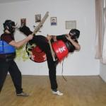 Adrian Tăuțan (foto dreapta) a început studiul artelor marțiale la vârsta de 19 ani/Foto: Dan Bodea