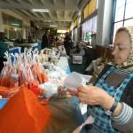Ileana Costan vinde de 30 de ani boia de ardei în Piața Someș