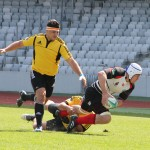 """Fără Răzvan Ailenei în echipă """"U"""" Cluj a fost eliminată din semifinalele Cupei României la rugby / Foto: Dan Bodea"""