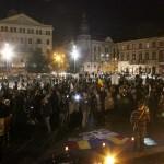Protestatarii anti-RMGC s-au plâns prefectului că au fost agresaţi