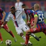 În jocul tur Steaua şi FC Basel au terminat la egalitate. scor 1-1,   acum bucureştenii au nevoie de victorie pentru a mai spera la calificarea în primăvara europeană