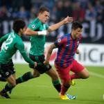Cristian Tănase nu a reuşit să se evidenţieze nici în meciul cu Schalke,   iar Steaua a fost eliminată din cupele europene