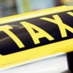 Taximetriştii,   amendaţi de poliţişti