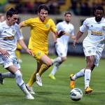 FC Vaslui nu a obţinut victoria în restanţa cu Concordia Chiajna,   terminată la egalitate 0-0,   dar moldovenii au săltat 3 locuri în clasament