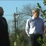 Dacian Cioloş,   alături de Comsin Sicora,   directorul centrului