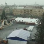 Imagine din această dimineață,   transmisă prin intermediul webcamului premiat