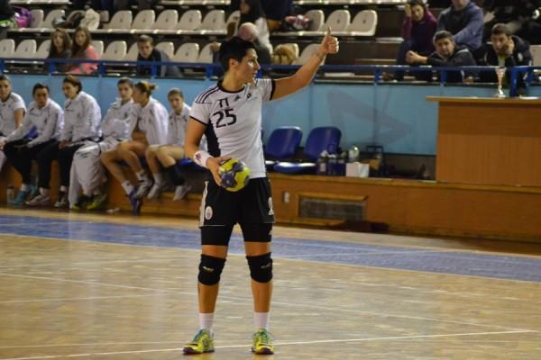 Maihaela Ani Senocico a fost desemnată MVP-ul turneului. (Foto: Radu Hângănuț)