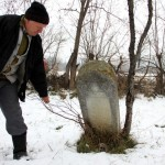 La mormântul unei familii de evrei din satul Bârlea/Foto: Dan Bodea