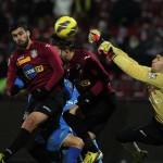 Vasile Maftei a dat semnalul revenirii lui CFR ]în lupta pentru Cupoele Europene / Foto: Dan Bodea