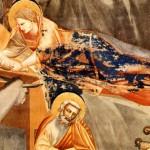 Naşterea lui Iisus,   frescă de Giotto,   Capela Scrovegni,   Padova,   1305 (detaliu)