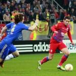 După înfrângerea de pa Samford Bridge (0-1) cu Chelsea,   Steaua a ajuns la 23 de partide fără victorie în Liga Campionilor