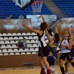 Baschetbalistele de la Universitatea Cluj nu au făcut faţă jocului agresiv practicat de CS Universitatea Alba Iulia şi au înregistrat al 11-lea eşec din actualul campionat / sursa foto: u-cluj.ro
