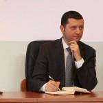 Călin Hinţea,   decanul Facultăţii de Ştiinţe Politice de la Cluj/ Foto: Septimiu Avram